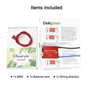 Image 5 - Deligreen 7S 15A 20A 30A 40A 50A 60A 24V PCM/PCB/BMS für 3,7 V lithium batterie pack 18650 Lithion LiNCM Li Polymer Roller