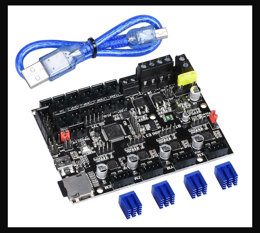 JINXIUCASE Pi/èces Imprimante 3D SKR Mini-E3 V1.2 32Bit Control Board avec TMC2209 UART Pilote SKR v1.3 E3 Dip for Creality Ender 3 Couleur : E3 Dip TMC2208 UART