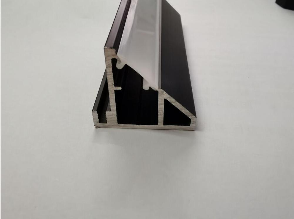 Envío Gratis, nuevo artículo, canal de Color Aluminio negro con tapas de cubierta y extremos y conectores de esquina de 90 grados Mezclador de línea de 4 canales portátil de Audio Duk para grabación de estudio en Directo Mini mezclador de Audio estéreo Grabación de consola de estudio en Directo pasiva
