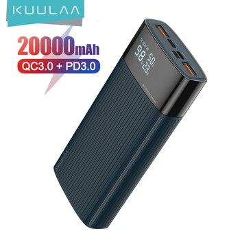 Внешний аккумулятор KUULAA 20000 мАч QC PD 3.0  1