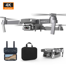 E68 RC Drone 4K HD Camera WIFI FPV Quadrocopter Foldable RC Helicopter Quadcopte