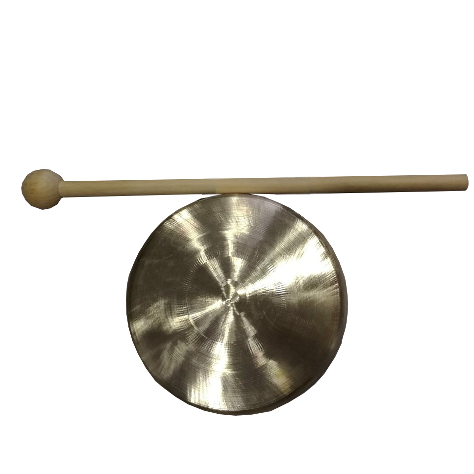 Beautiful And Good Sound 10cm Ming Gong Do Not Include The Gong Stand