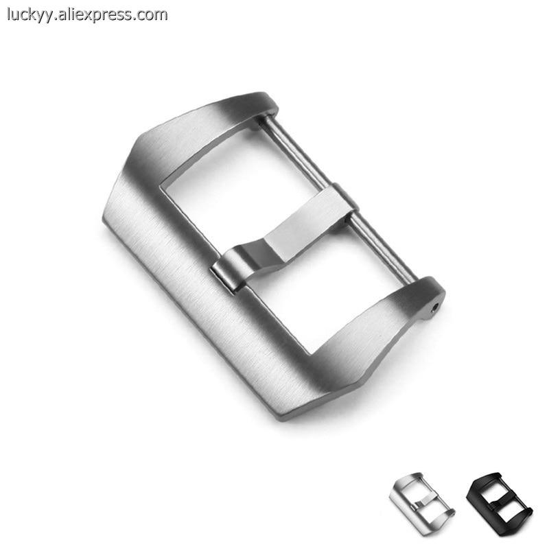 Популярный известный бренд пряжка 18 20 22 24 26 мм 316L нержавеющая сталь застежка для Мужские часы Сменные PA114