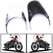 Nordson Motorcycle Windshield Deflector Extension Spoiler Windscreen Spoiler Airflow Windscreen For Royal Enfield Classic 500CC universal motorcycle windshield airflow adjustable windscreen extension deflector windshield spoiler small