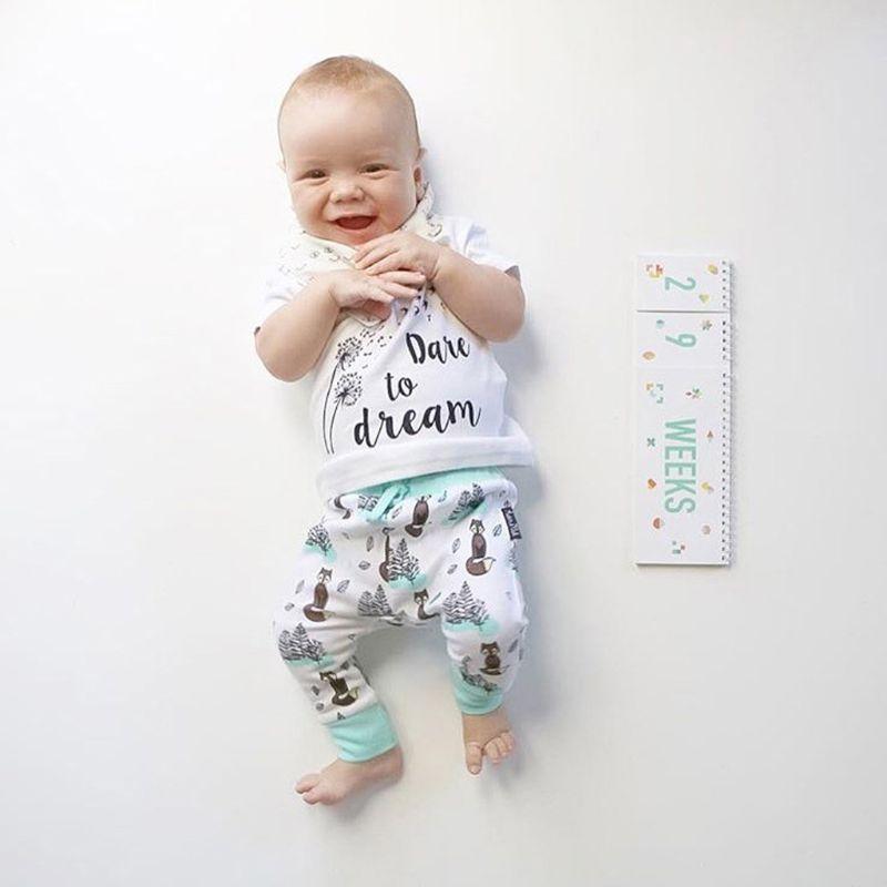Baby Monthly Newborn Photos Funny Milestone Flip Book Photography Photo Album DXAD
