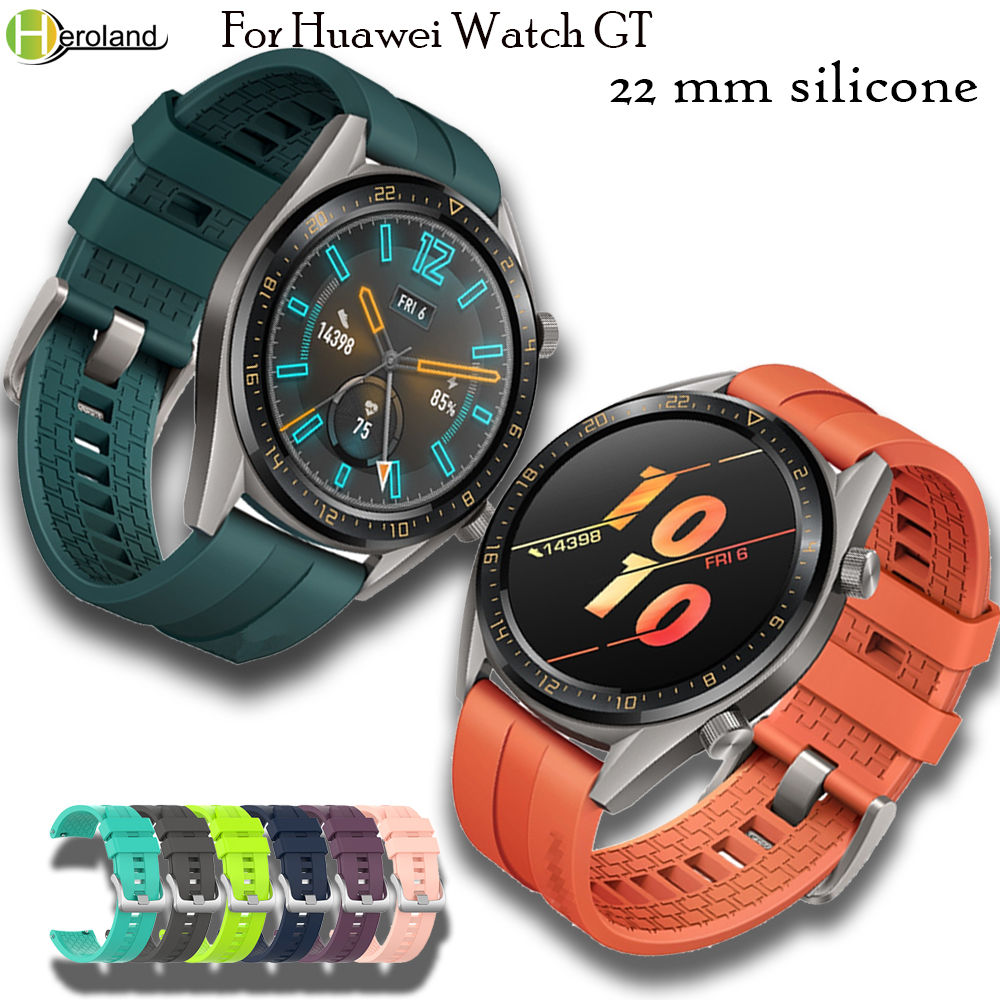 Wrist Strap Band For Huawei Watch GT 46mm/samsung Gear S3 Sports /Amazfit GTR 47mm Smartwatch Band