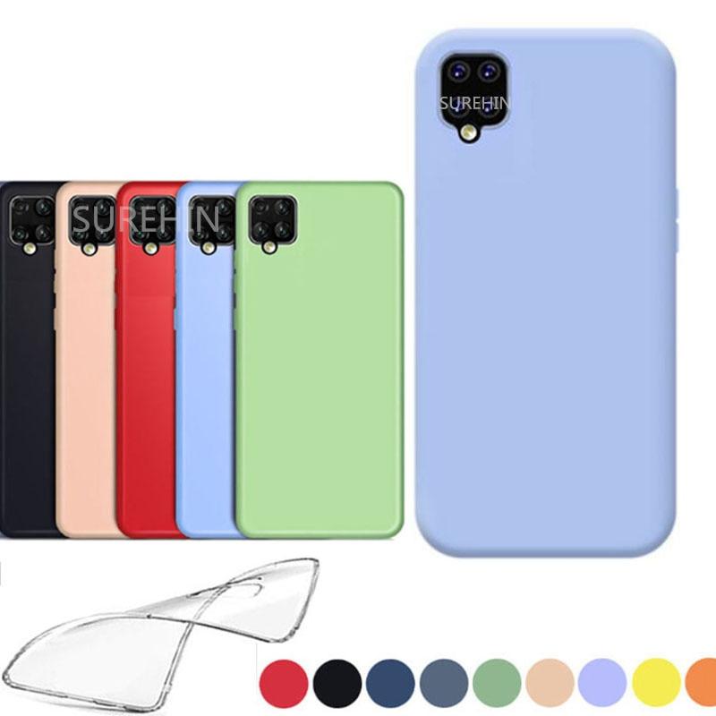 Силиконовый чехол для Samsung galaxy A42 5G прозрачный черный синий розовый ТПУ мягкий чехол для samsung galaxy A42