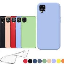 Silikon abdeckung für Samsung galaxy A42 5G fall transparent klar schwarz blau rosa TPU coque weichen fall für samsung galaxy A42 abdeckung
