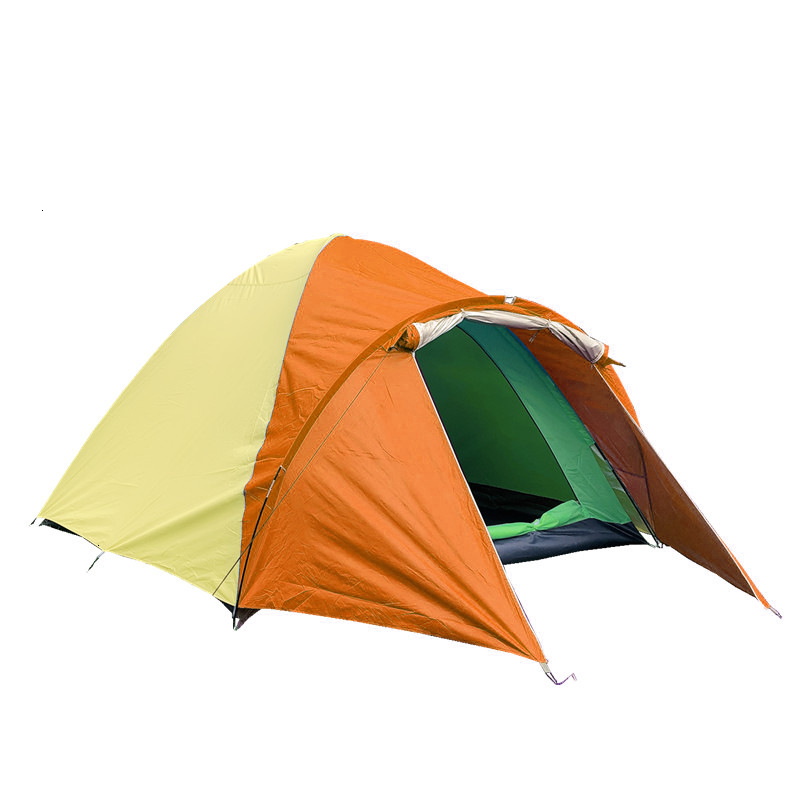 3-4 Person Large Double Layer Tent for Outdoor Camping Hiking Hunting Fishing Travel Picnic Tourist Emergency Tent 320x210x145cm (12)