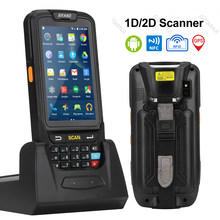 Pda Barcode Scanner 1D 2D Bluetooth Android Handheld Terminal Robuuste Pda Draadloze Mobiele 1D Bar Code Scanner Data Collector