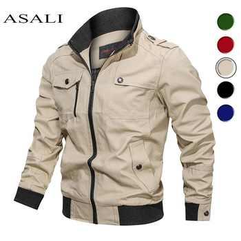 2020 veste militaire hommes printemps automne coton coupe-vent pilote manteau armée hommes Bomber vestes Cargo vol veste hommes vêtements
