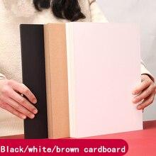 Kraft-Paper Cardboard Black Thick A4 80-350GSM Drawing DIY Handmade White High-Quality