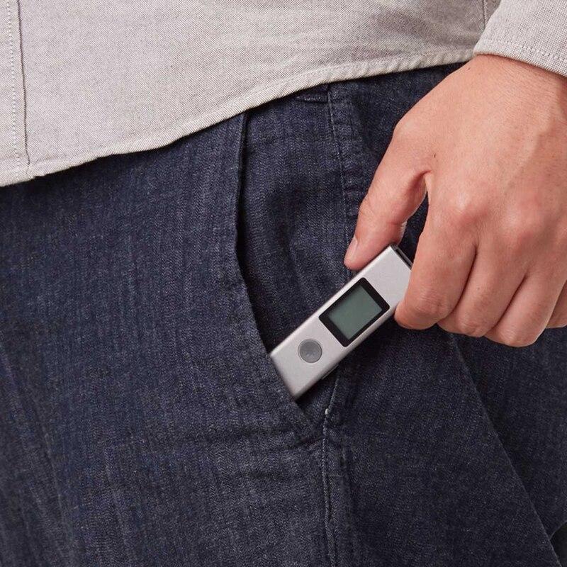 Image 2 - Xiaomi 40M Laser Rangefinder USB High Precision Measurement Flash Charging Portable Handheld Distance Meter Laser Range FinderSmart Remote Control   -