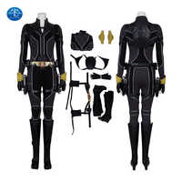 Disfraz de Cosplay de la viuda del carnaval, traje de Halloween, ropa de anime, traje de Cosplay de Natasha Romanoff, accesorios de fantasía, botas