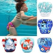 Новые детские подгузники для плавания, водонепроницаемые регулируемые тканевые подгузники для бассейна, купальный подгузник, многоразовые моющиеся детские подгузники