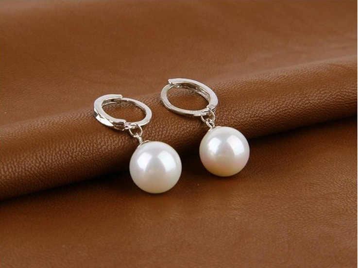 จี้เงินแท้ 925 ต่างหู rhinestone ball ear buckle ต่างหูแฟชั่นคริสตัล CZ ต่างหู Dangling งานแต่งงานผู้หญิง