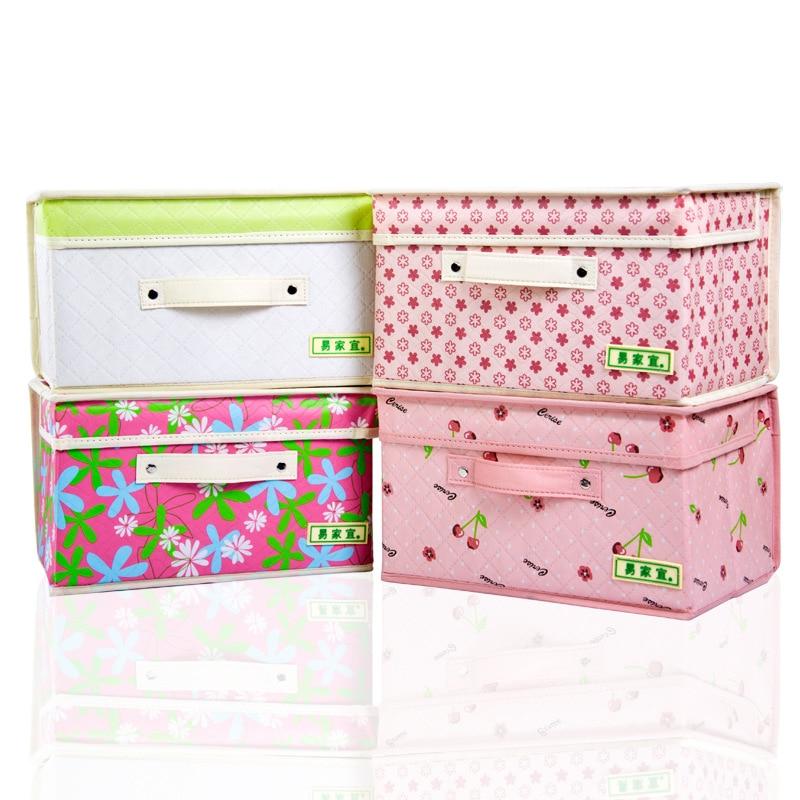 Yi jia yi коробка для хранения одежды большого размера с крышкой водонепроницаемый складной ящик для хранения
