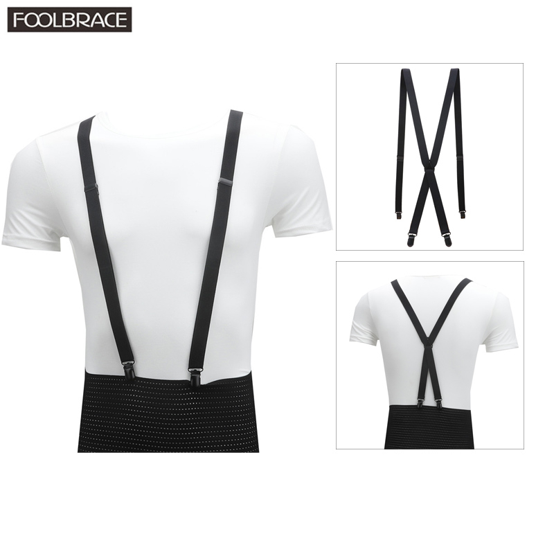 2cm Width X-back Slim Skinny Unisex Men/Women Suspender Handmade Brace Cutie Creative Thin Body Plating Metal