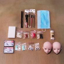 Beginner DIY Beginner Makeup Tools Kit For BJD Doll (15 Tools / No Gloss Oil,