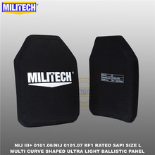 Bulletproof-Plate SAPI Ballistic M193--Militech Nij-Level 2pcs Against Sized Sized