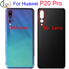 цена на For Huawei P20 Pro battery cover Door Back For Huawei P20Pro Battery Door Replacement Parts P20 Pro Housing Back Cover Case