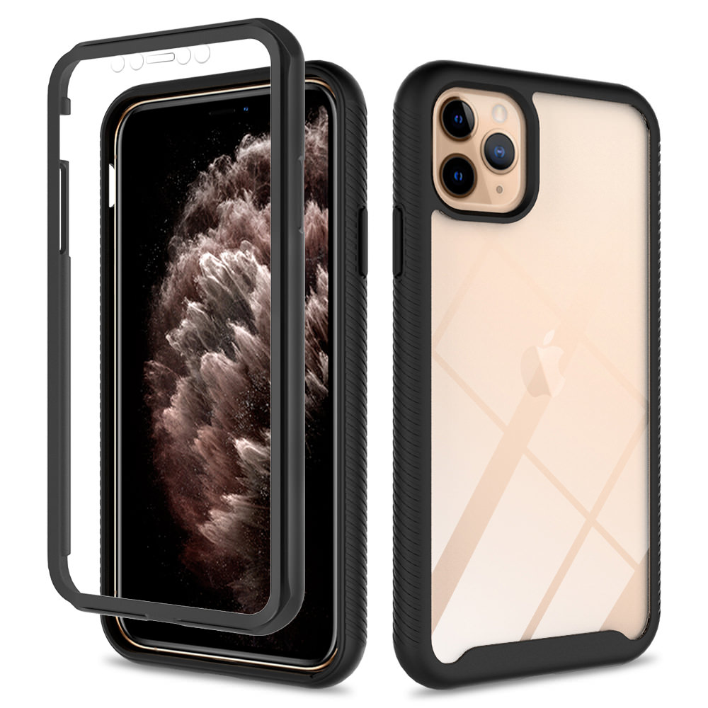 Transparent Full Body Cover With Built-In Screen Protector with Adjustable Lanyard Cord Necklace Mobile Phone Cover Ptny 360/° Full Protection Crossbody Case for iPhone XS Max
