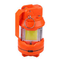 Bomba de estuco brillante de frecuencia LED T238 para batería de 11,1 v, para Nerf Water Beads Blaster Night Fight-naranja