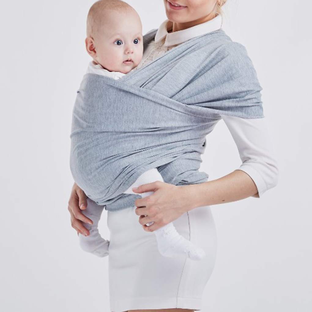 Baby Cotton Carrier Sling For Newborns Soft Infant Wrap Breathable Wrap Hipseat Breastfeed Birth Comfortable Nursing Cover