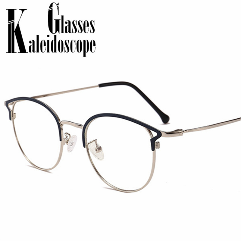 Anti Blue Light Glasses Frames Women Cat Eye Eyeglasses Ladies Computer Protection Optical Spectacles Sutdent Myopia Frame