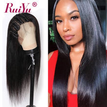 13X6 Lace Front Human Hair Wigs With Baby Hair Brazilian Remy Hair Lace Front Wigs Pre Plucked Natural Hairline RUIYU Lace Wigs(China)