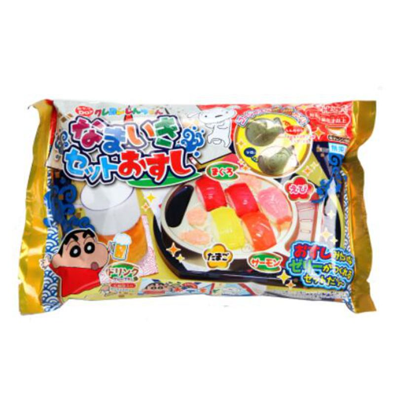 New Japan Kracie POPIN Cook Happy Kitchen Cookin Diy HEART Crayon Small New Homemade Salmon Fillet Kitchen Kids Toy