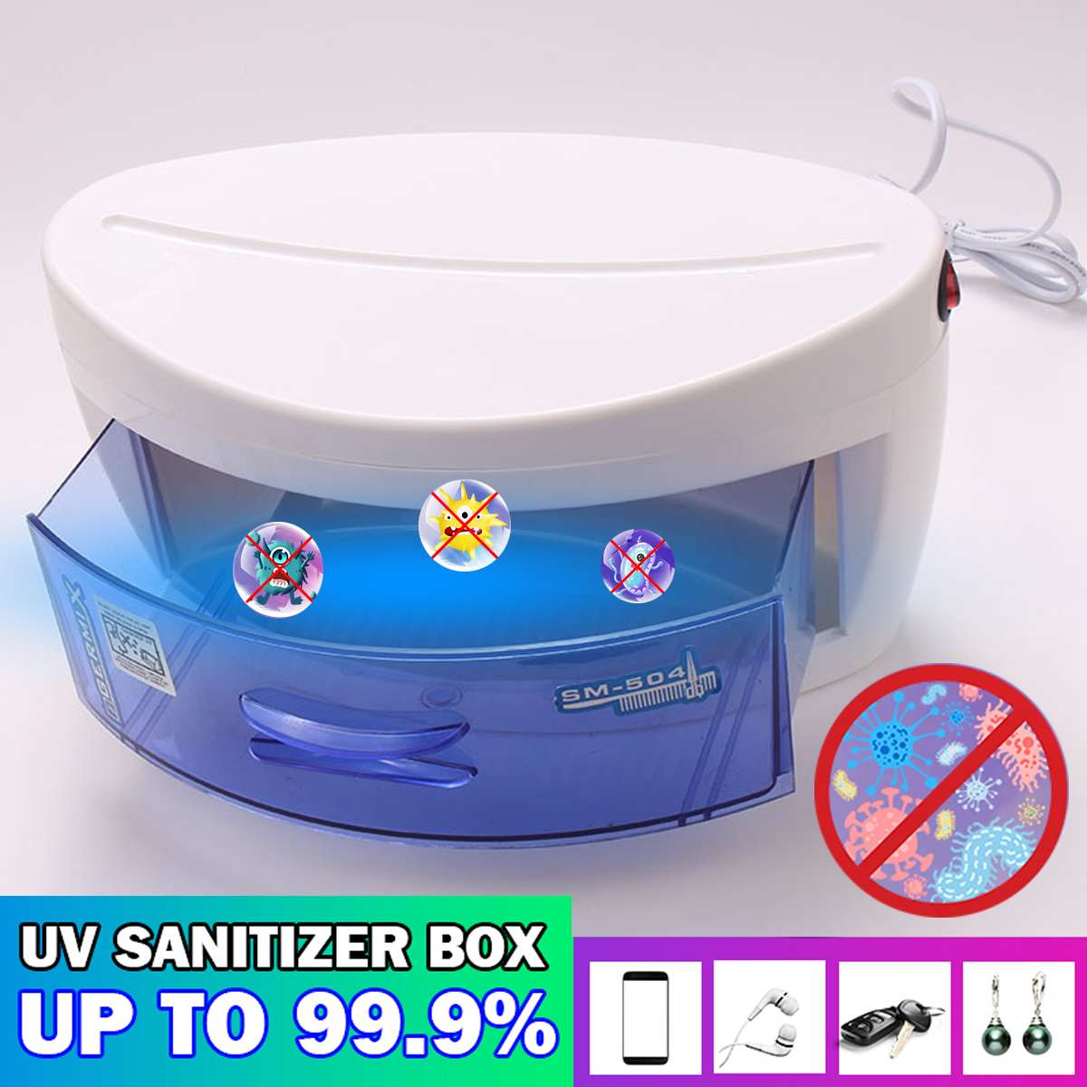 220V Hot Household UV Sterilizer Box UV Sterilizer Cabinet Towel Clothes Appliance Disinfection Sterilization Good Sealing