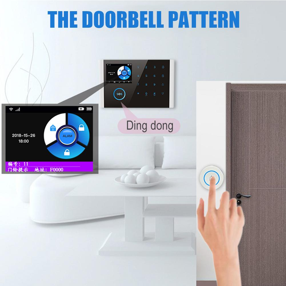 Anti-theft Motion GSM Alarm Detector Security Portable Smart Eternal Network Security Intelligence Home Wireless Remote Control