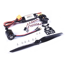 Sonicmodell AR Flügel Pro Power Combo 2216 KV1400 Bürstenlosen Motor & 40A ESC w/5V 3A BEC & 9g Metall Getriebe Servo & 8050 8x5 Propeller