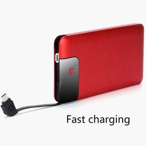 Image 2 - 10000mah batterie externe batterie externe appauvrbank 2 USB Powerbank Portable chargeur de téléphone Portable pour