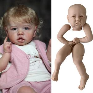 NPK DIY kit reborn Popular doll kit very soft real doll fresh color parts touch unpainted unfinished E9U4