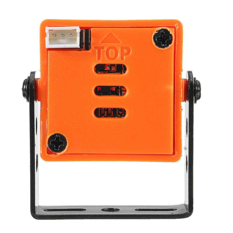 Оранжевый 1200TVL CMOS 2,5 мм/2,8 мм 130/120 градусов 16:9 Мини FPV камера-pal/NTSC 5 V-12 V для радиоуправляемого гоночного дрона