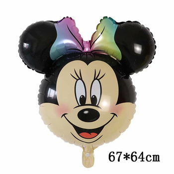 Giant Mickey Minnie Mouse Balloons Disney cartoon Foil Balloon Baby Shower Birthday Party Decorations Kids Classic Toys Gifts 25