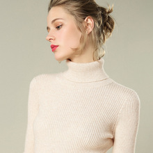 SE Autumn Winter Clothes Women Sweater High Collar Pullover Long Sleeve Turtleneck Sueter Mujer Invierno 2019