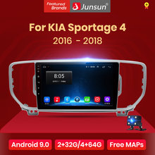 Junsun V1 2G+32G Android 9.0 DSP Car Radio Multimedia Player GPS Navigator For KIA Sportage 4 2016 2017 2018 2019 Audio 2Din dvd(China)