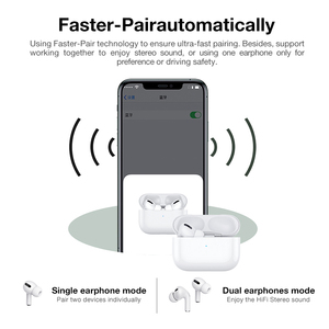Image 5 - Pro3 tws Earbuds Wireless Headphones Bluetooth Earphone Touch Control For Pods Stereo Headset PK i100000 i12 1:1 air 3 pro 2
