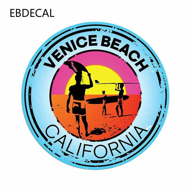 EBdecal  Venice Beach California Auto Car Bumper Window Wall Suitcase Decal Sticker Decals DIY Decor CT13416