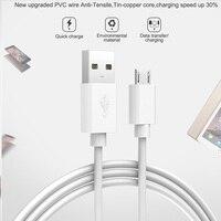 Cable USB a Micro USB 1m Android Cable de carga para Huawei P8 P9 Lite Y3 Y5 Y6 Y7 Y9 Pro primer 2018 Huawei Mate 7 8 Honor 6 Plus