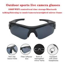 2020 Smart Camera Sunglasses Listening To Music Bluetooth Voice Glasses Video  High End Inteligente Live Stream Wifi Glasses