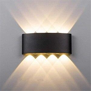 Aluminium LED Wall Lamp 6W 8W