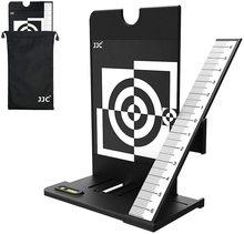JJC lente de cámara autoenfoque, tabla de herramientas de calibración de enfoque automático a través de la cámara DSLR selecta, con función de ajuste AF Fine Tune