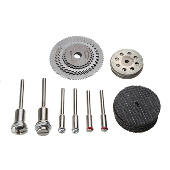 цена на 31Pcs Diamond Circular Saw Blade Cutting Disc Resin Cut-Off Wheels Disc Grinding Wheel Set Connecting Shank For Rotary Tool