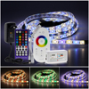 5M 5050 LED Strip DC12V RGB   RGBW   RGBWW Flexible Light Tape 300 LEDs RGB Color LED Strip Set   Remote Control   Power Adapter review