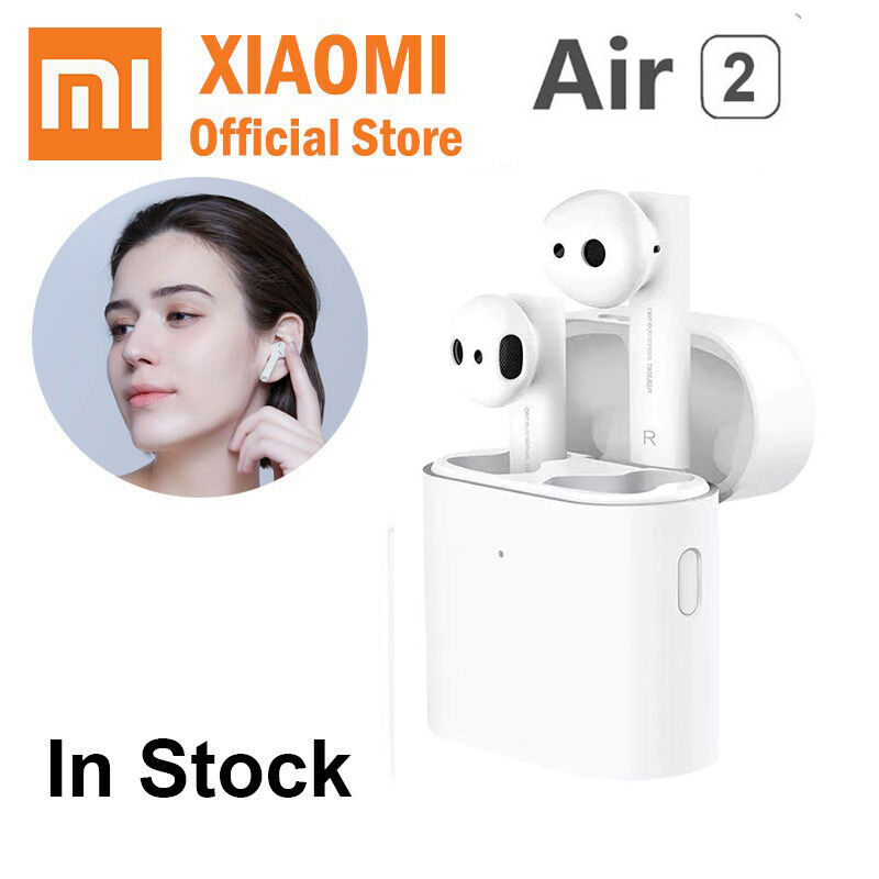 Original Xiaomi Airdots Pro 2 Wireless Bluetooth Earphone Air TWS Headset ANC Touch Control Earbuds With Mic ENC Voice Control