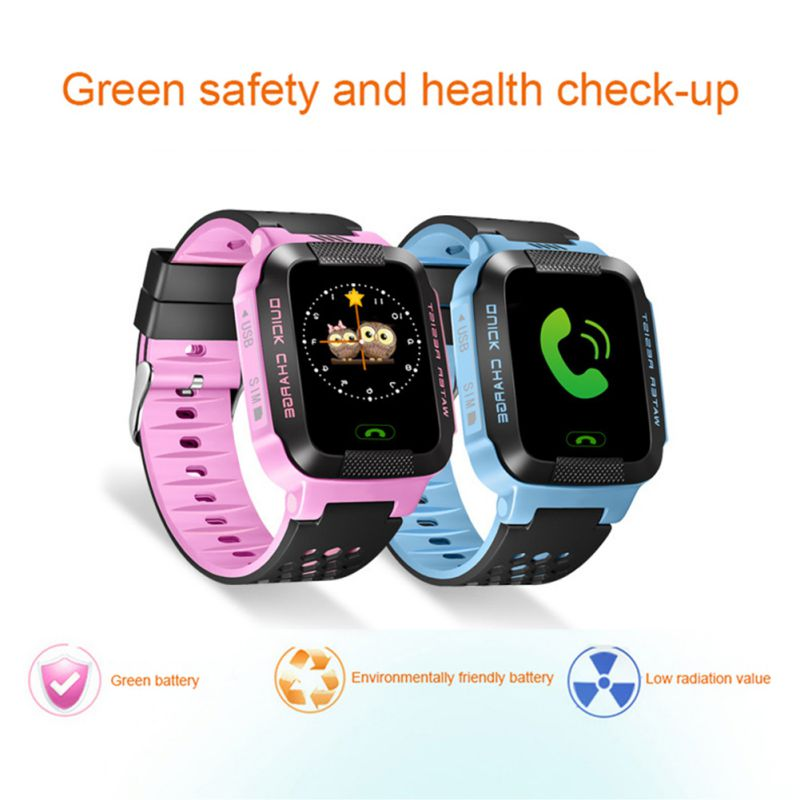 Y21G Children Watch Bluetooth Kids Smart Watch Real Time Security Tracker GPS AGPS LBS Life Waterproof  Band
